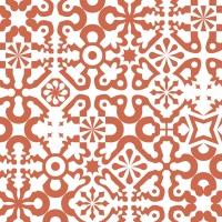 rode geometrische figuren