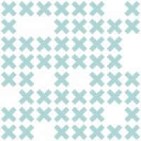 LAVMI behang System blauwe kruisjes
