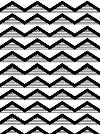 LAVMI behang Hills zwarte zigzag lijnen horizontaal