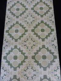 groen beige geometrisch patroon