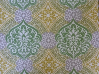 groen geel grijs medaillon