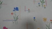 fijne bloemen vintage behang