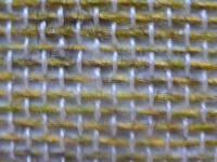 textielbehang geel groen