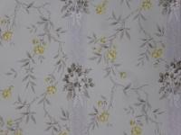 gele en grijze bloemen