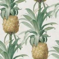 Ananas behangpapier