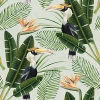 Pardijsvogels behangpapier