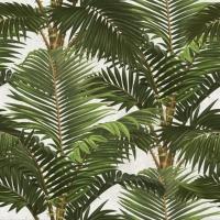 Tropische tuin behangpapier