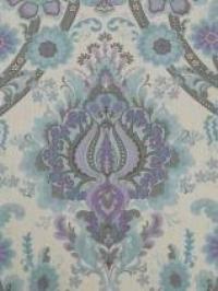 médaillon purpre bleu