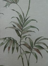 vintage behang groene plant