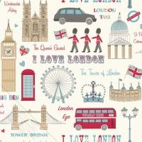 Londen kinderbehang