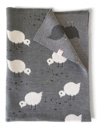 Lavmi deken voor baby - Juli kuikens