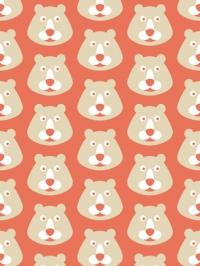 beer op rode achtergrond