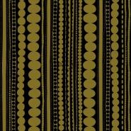 ESTA behang kralen zwart goud