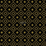 ESTA behang zwart goud ruitvorm