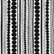 ESTA behang kralen zwart wit