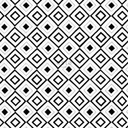 ESTA behang zwart wit ruitvorm