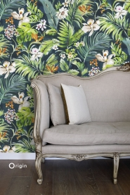 mural exotic plants
