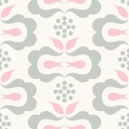 pink grey geometric figure