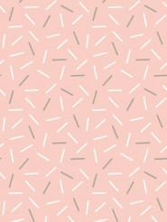 white and grey lines on a pink background
