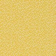 Miss Print behang Chimes geel