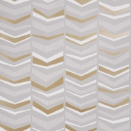 Miss Print wallpaper Chevron Humbug