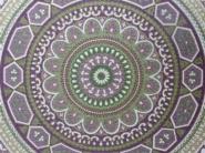 paars en groene cirkels