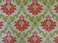 rood groen medaillon op een lichtgroene achtergrond
