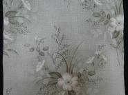 vintage bloemenbehang roze bruin