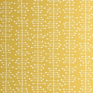 Miss Print wallpaper Muscat yellow