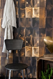 Premium wallpaper Shibui copper