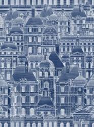 Louvre blauw
