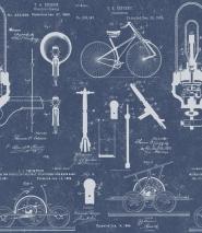 Patenten blauw