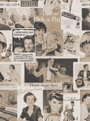 Retro Ads Sepia