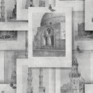 Arabische monumenten grijs