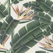 Tropische bloem behangpapier