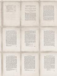 Boek behangpapier beige