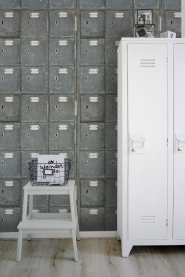Lockers behangpapier