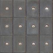 Dossierkast behangpapier