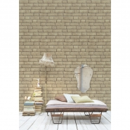 beige bricks wallpaper