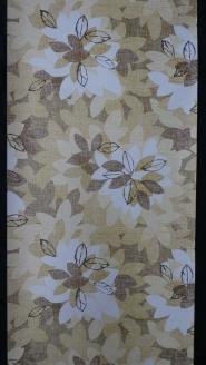 wit geel bruin groen bloemblaadjes
