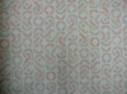 roze grijs beige geometrische figuren in banden