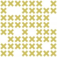 LAVMI behang System groene kruisjes