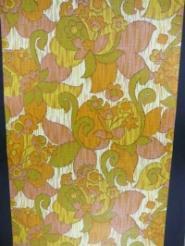 roze geel groen oranje bloemen