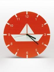 horloge mural enfants bateau