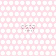ESTA behang bollen roze