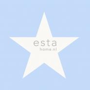 ESTA behang grote ster lichtblauw