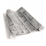 grijze bakstenen behang