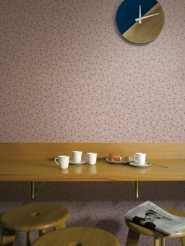 LAVMI behang Atoms roze