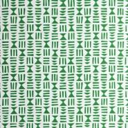 Miss Print behang Hieroglyph groen