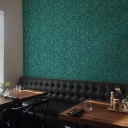 mozaïek imitatie behang groen